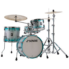 "Sonor AQ2 18"" Aqua Silver Burst Bop Drumset « Drum Kit"