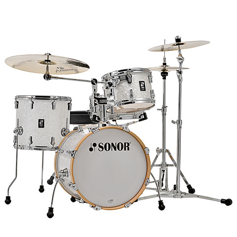 "Sonor AQ2 18"" White Pearl Bop Drumset"