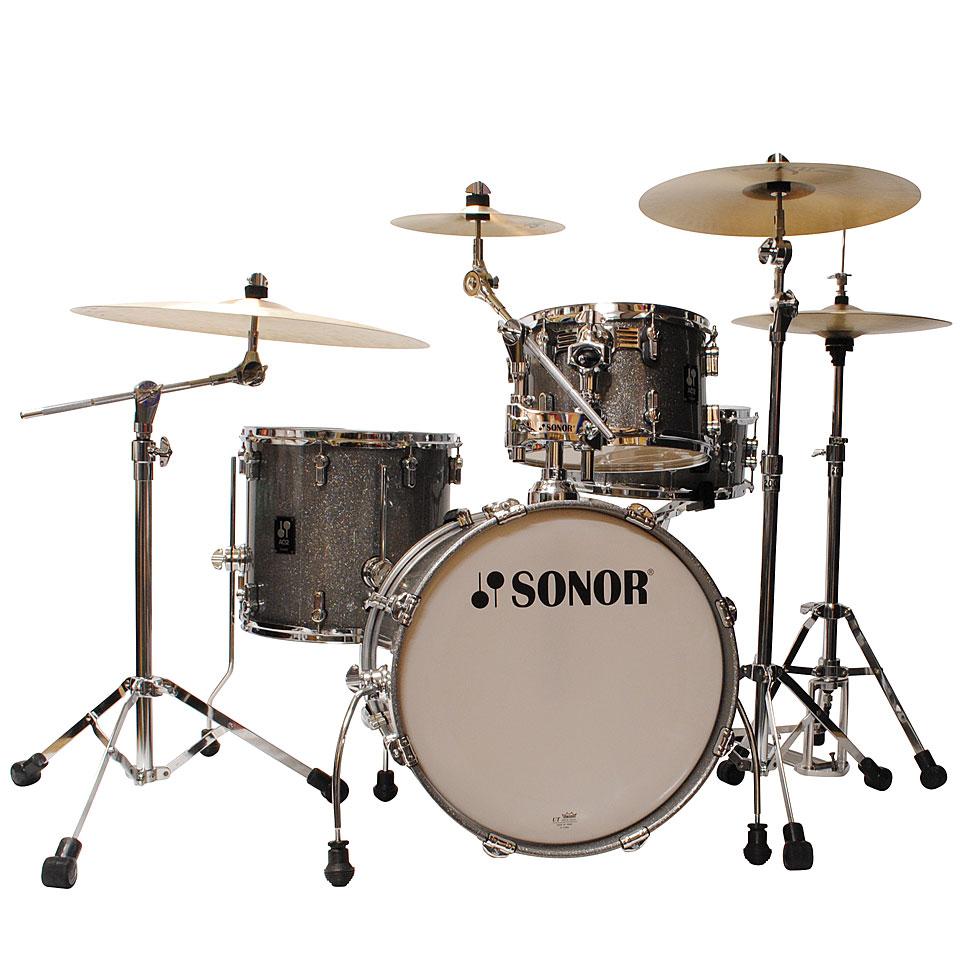 Akustikdrums - Sonor AQ2 18 Titanium Quartz Bop Drumset Schlagzeug - Onlineshop Musik Produktiv