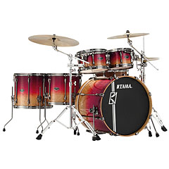 Tama Superstar Custom 22  Figured Ruby Fade Limited Edition