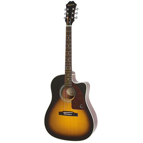 Westerngitarre Epiphone AJ-210CE Outfit VS
