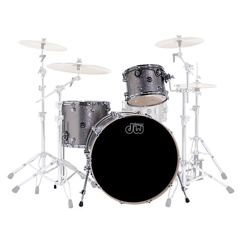 "Schlagzeug DW Performance 20"" Pewter Sparkle"
