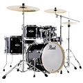 "Trumset Pearl Export 18"" Jet Black Compact Drumset"
