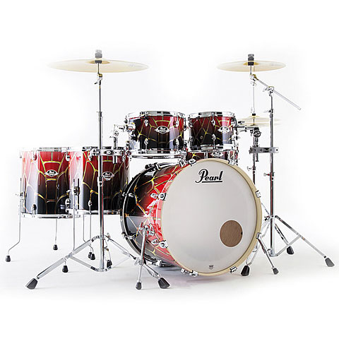 Pearl Export Artisan 22  Spider Web LTD Drumset