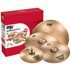 Sabian B8X Performance Set Plus « Pack de cymbales
