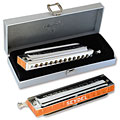 Chromatische-harmonica C.A. Seydel Söhne Chromatic DeLuxe Steel A