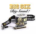 Harmonica Richter C.A. Seydel Söhne Blues Big Six Classic C