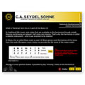 Harmonica Richter C.A. Seydel Söhne Soundcheck Vol. 1  - Blues Beginner Pack