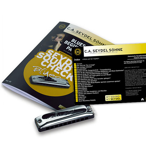 C.A. Seydel Söhne Soundcheck Vol. 1  - Blues Beginner Pack