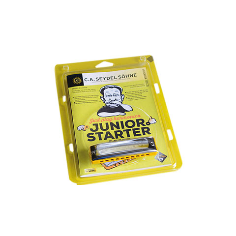 C.A. Seydel Söhne Just Play Harmonica - Junior Starter Kit