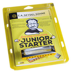 C.A. Seydel Söhne Just Play Harmonica - Junior Starter Kit « Richter Harmonica