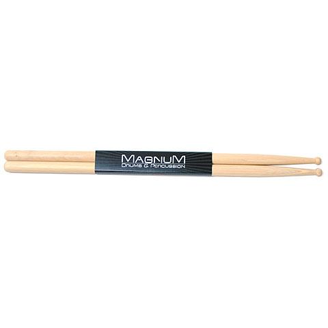 Baquetas para batería Magnum US-Hickory 5A Round Wood Tip