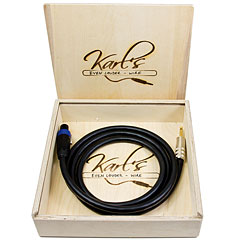 Karl's Even-Louder-Wire 2 m SP/K « Cable para altavoces