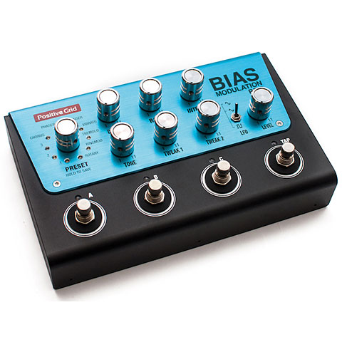 Pedal guitarra eléctrica Positive Grid BIAS Modulation
