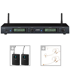 IMG Stageline TXS-900 Dual-Headset-Set « Wireless Systems
