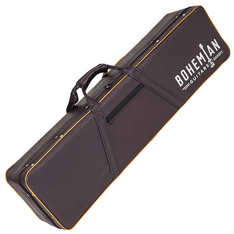 Koffer E-Gitarre Bohemian Oil Can Hardcase black/brown