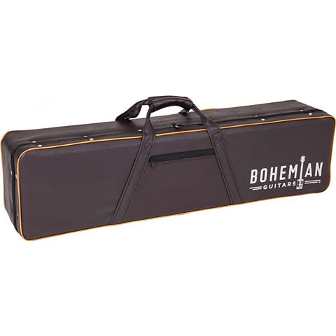 Koffer Electr. bas Bohemian Oil Can Hardcase black/brown
