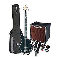 Ibanez Gio GSR180-BK / Ashdown AAA-30-8 « Bass Guitar Set