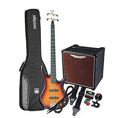 Ibanez Gio GSR180-BS / Ashdown AAA-30-8 « E-Bass Set