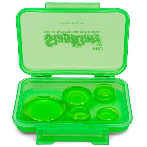 SlapKlatz 10-Pack Alien Green Damper Pads