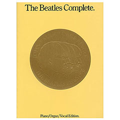 Bosworth The Beatles Complete (Revised) Piano Edition « Cancionero