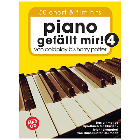Libro de partituras Bosworth Piano gefällt mir! 4 (+CD)