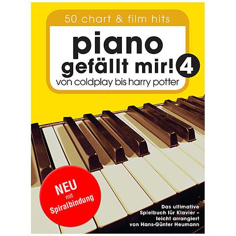 Recueil de Partitions Bosworth Piano gefällt mir! 4 (Spiralbindung)