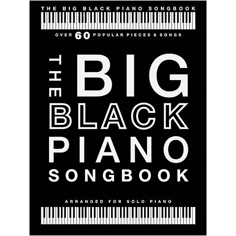 Music Sales The Big Black Piano Songbook