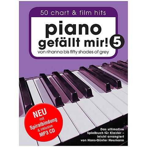 Libro de partituras Bosworth Piano gefällt mir! 5 (+CD)