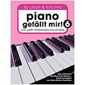 Μυσικές σημειώσεις Bosworth Piano gefällt mir! 6 (Spiralbindung)