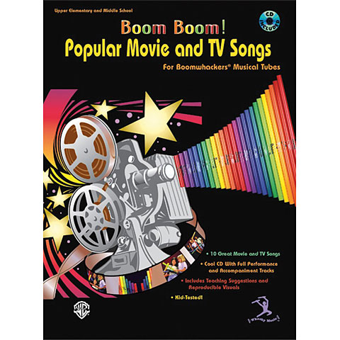 Bosworth Movie And TV Songs for Boomwhackers Musical Tubes