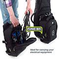 Fundas Fusion Urban Large-Fuse-on- Bag black/blue
