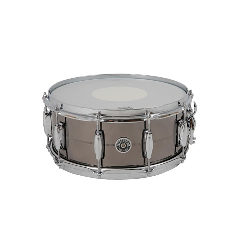 "Gretsch Drums USA Brooklyn 14"" x 6"" Black Nickel over Brass"