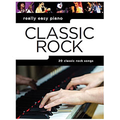 Music Sales Really Easy Piano - Classic Rock - 20 Classic Rock Songs « Recueil de Partitions
