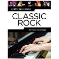 Libro de partituras Music Sales Really Easy Piano - Classic Rock
