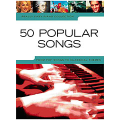Music Sales Really Easy Piano - 50 Popular Songs