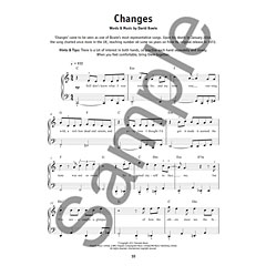 Music Sales Really Easy Piano - David Bowie - 20 David Bowie Songs