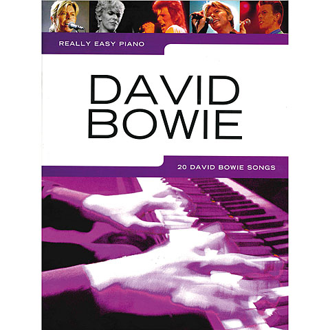 Recueil de Partitions Music Sales Really Easy Piano - David Bowie - 20 David Bowie Songs