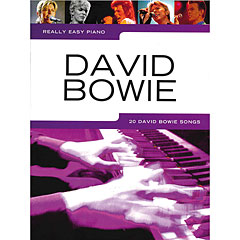 Music Sales Really Easy Piano - David Bowie - 20 David Bowie Songs « Recueil de Partitions