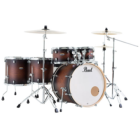 Pearl Decade Maple 22  Satin Brown Burst