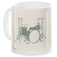 Music Sales Keramikbecher Drums Mug « Tazza da caffè