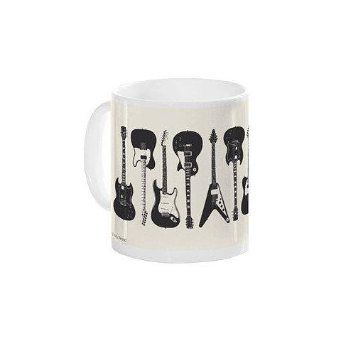 Tazas Music Sales Keramikbecher Electric Guitars Mug