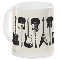 Music Sales Keramikbecher Electric Guitars Mug « Tazza da caffè