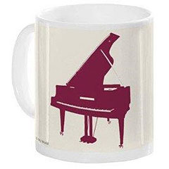 Music Sales Keramikbecher Piano Mug « Tazza da caffè