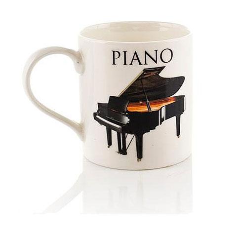 Tazas Little Snoring Music Word Mug - Piano