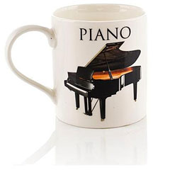 Music Sales Keramikbecher Piano II Mug « Tazas
