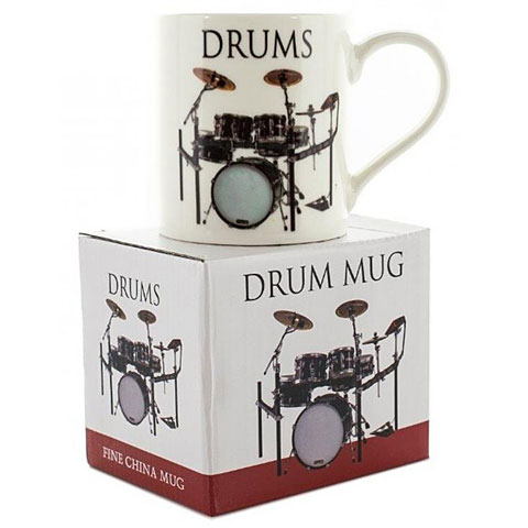 Tazas Little Snoring Music Words Mug - Drums