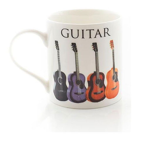 Tazas Music Sales Keramikbecher Acoustic Guitar Mug