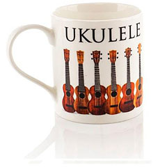 Little Snoring Music Words Mug - Ukulele « Coffee Cup