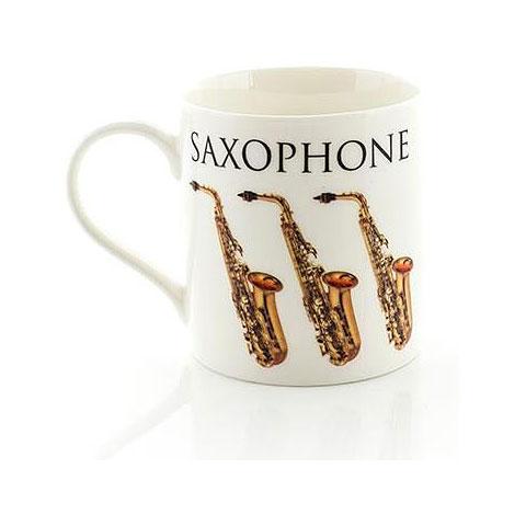 Tazas Little Snoring Music Words Mug - Saxophone